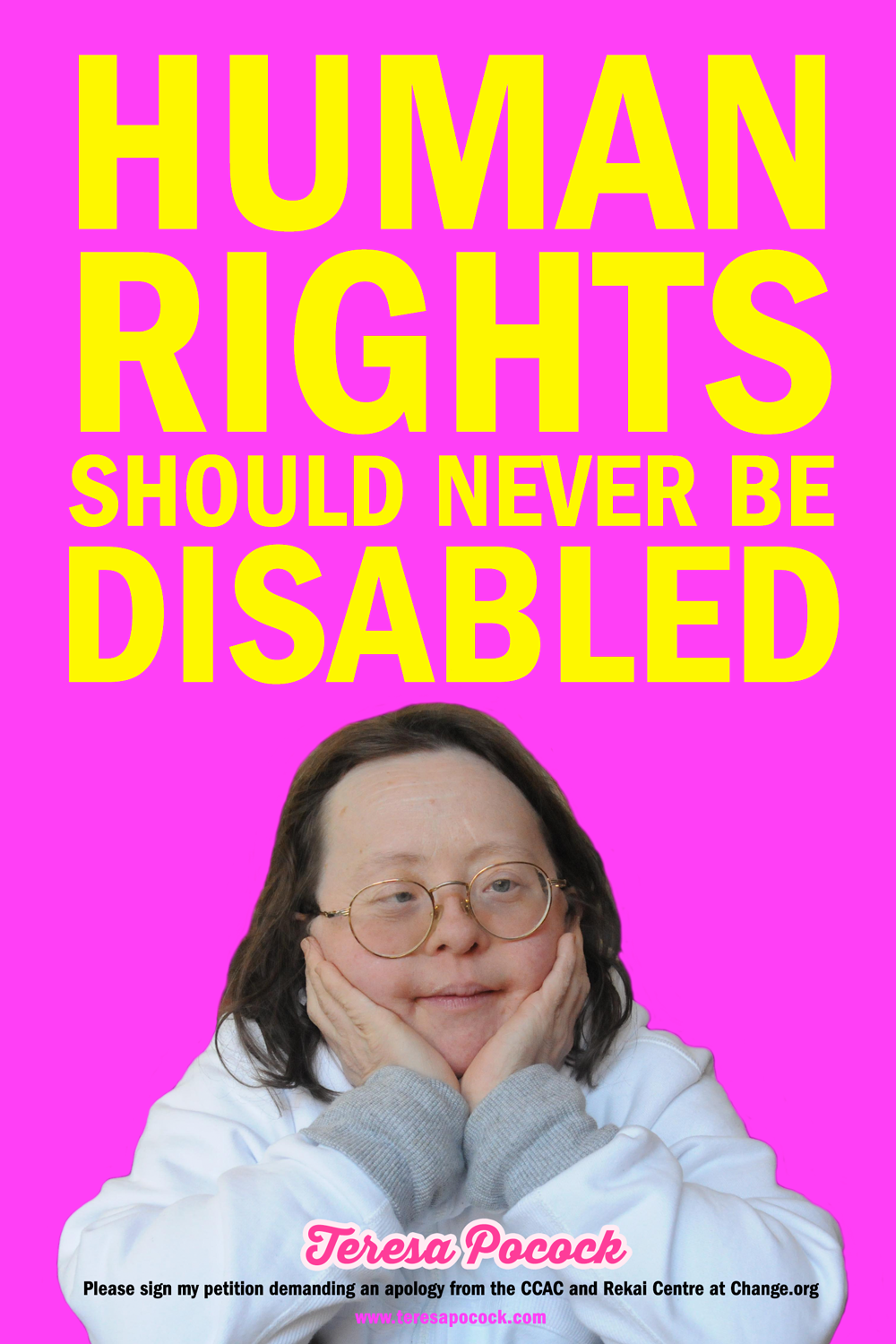 Human Rights Should Never Be Disabled
